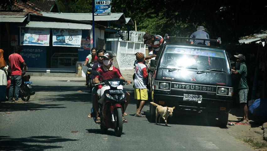 Straßenimpressionen Lombok