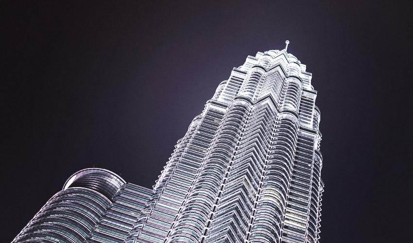 Petronas Towers bei Nacht #3