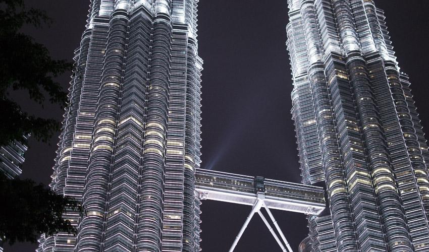 Petronas Towers bei Nacht #2