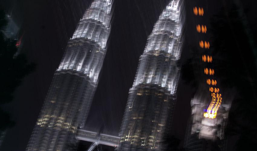 Petronas Towers bei Nacht #1