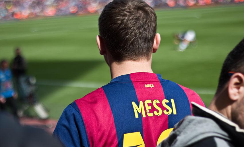 God mode: Messi
