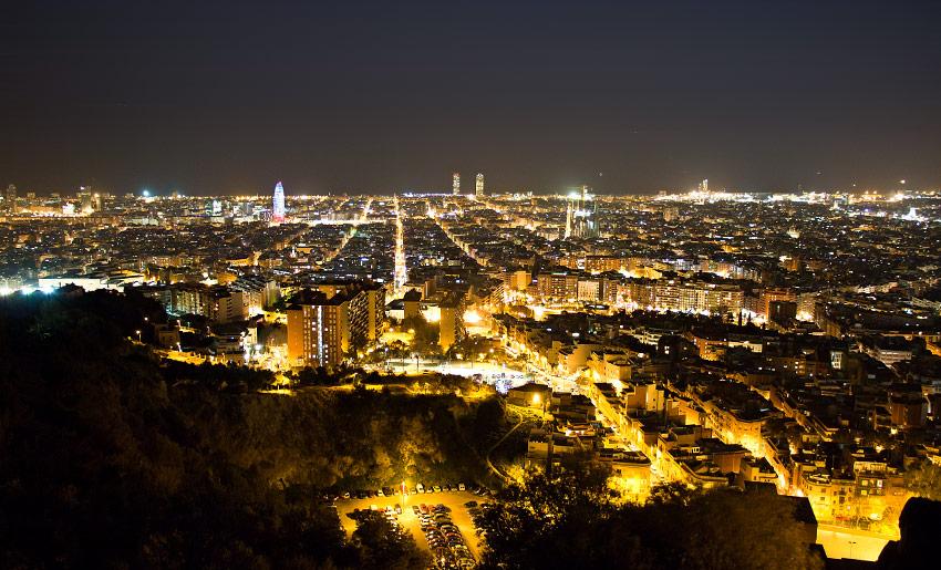Barcelona leuchtet!