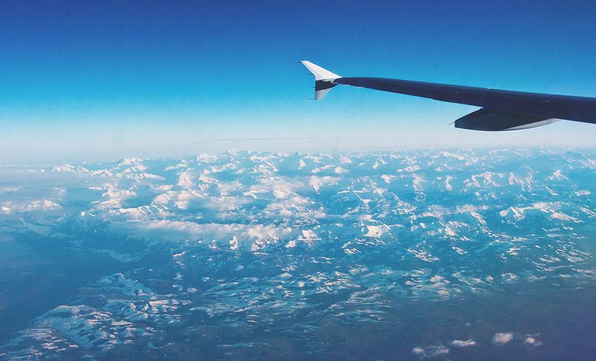 Auf dem Weg nach Barcelona: Über den Alpen