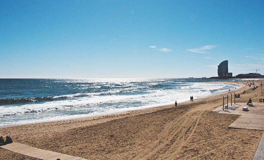 Nah an der Innenstadt: Der Strand!
