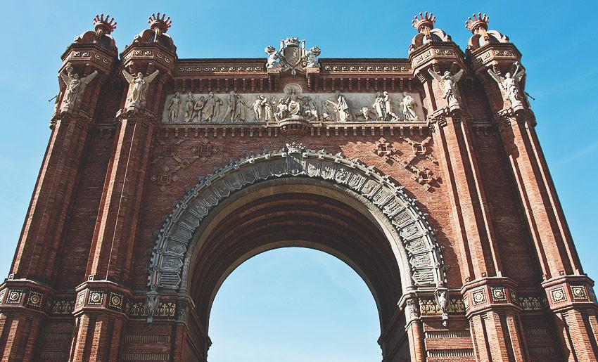 Der Arc de Triomf