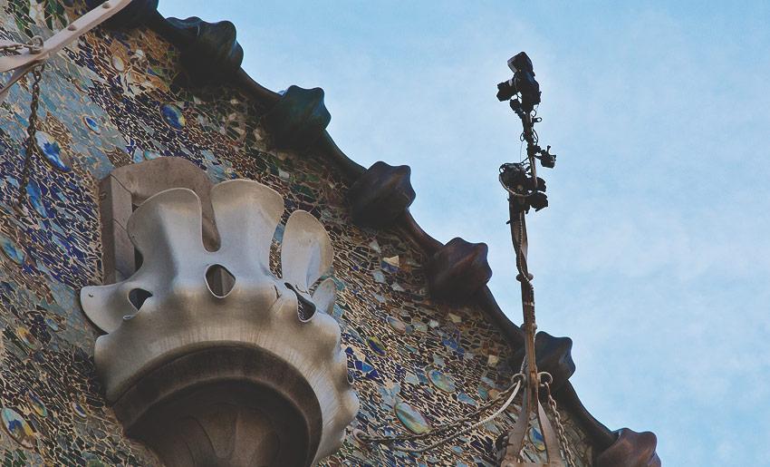 Ausgerüstet für den Tourismus: Die Casa Batlló von Antoni Gaudí
