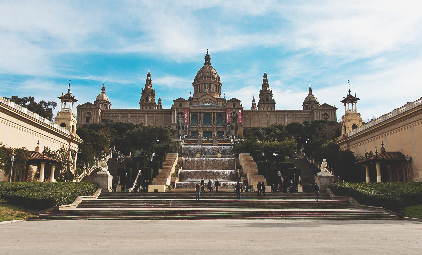 Das beeindruckende Museu National d'Art de Catalunya