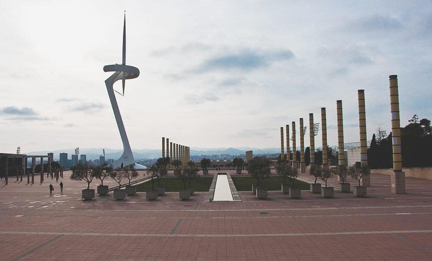 Das Olympiagelände von 1992