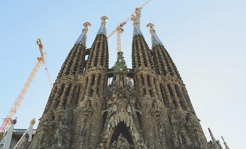La Sagrada Familia: Eine große Baustelle