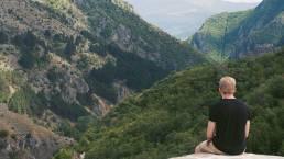 Aussicht vom Berg über Prizren im Kosovo
