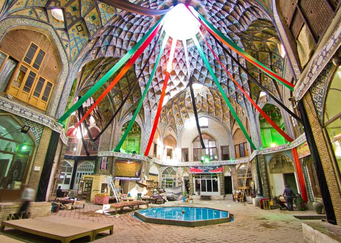 Der Basar in Kaschan