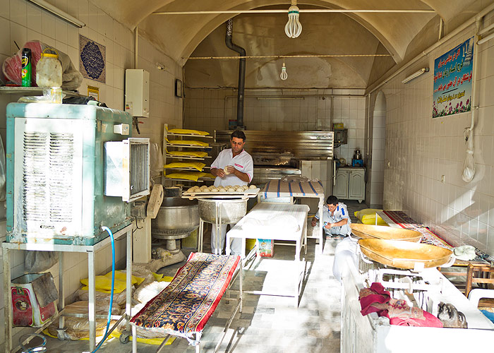 Bäckerei in Kaschan
