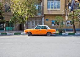 Taxi in Kaschan