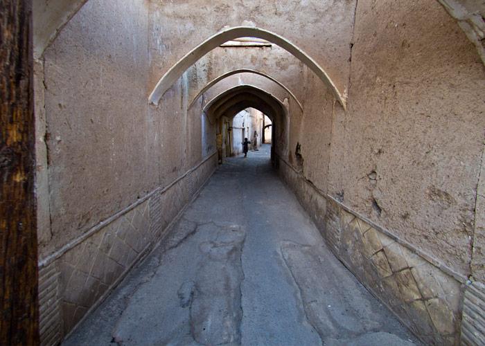 Straße in Kaschan