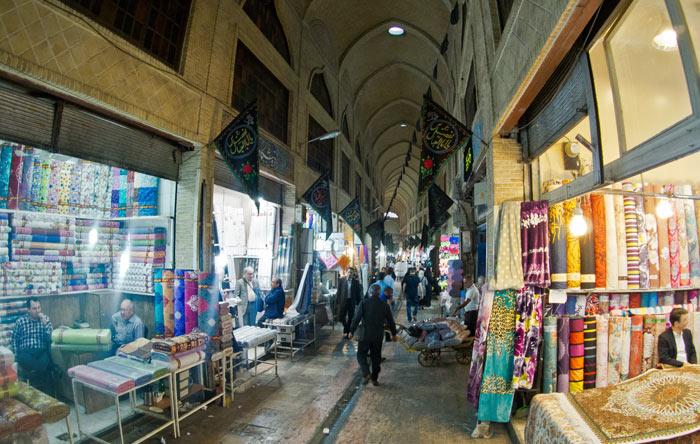 Der Basar in Teheran