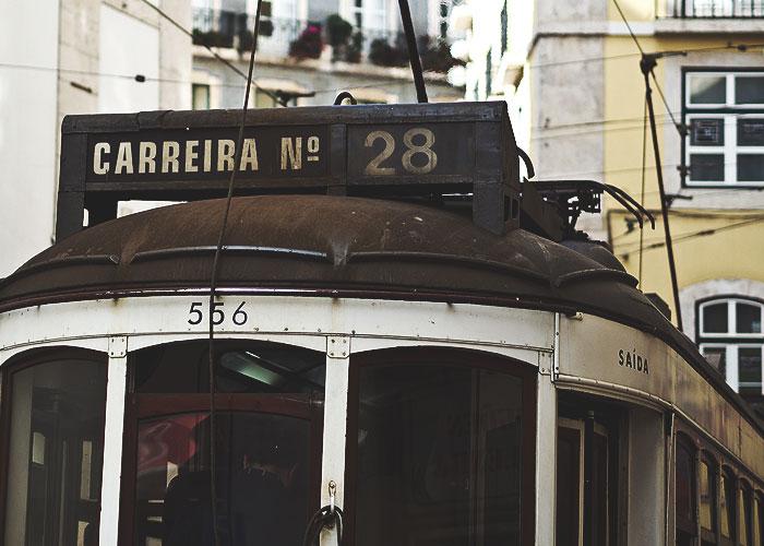 Die alte Tram 28