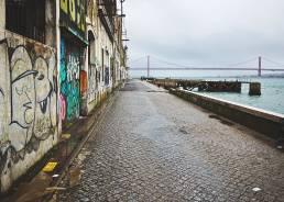 Bei Cacilhas, Lissabon