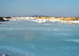 Salzwüste bei Varzaneh
