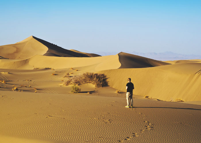 Wüste bei Varzaneh