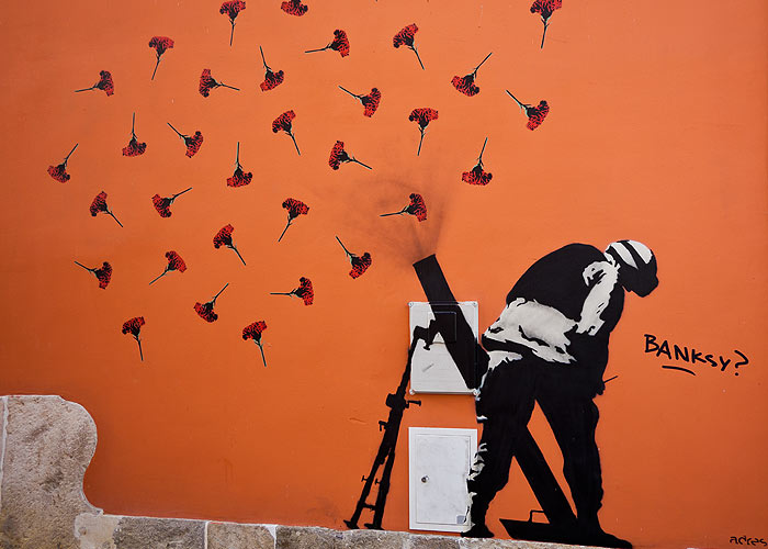 Streetart in Lissabon (Altstadt)