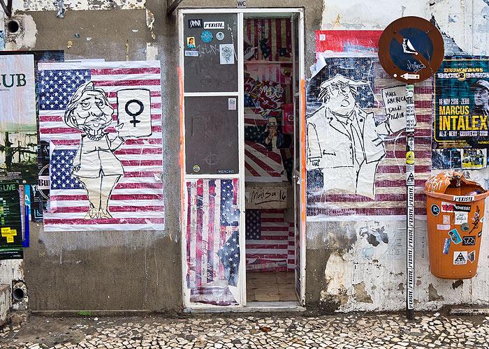 Streetart in Lissabon (LX Factory)