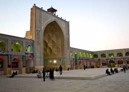 Die Jameh Mosque etwas weiter nördlich