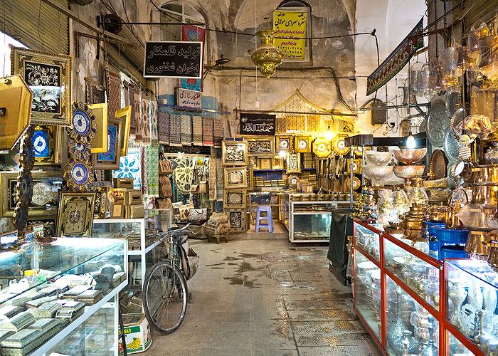 Der Bazar in Kaschan