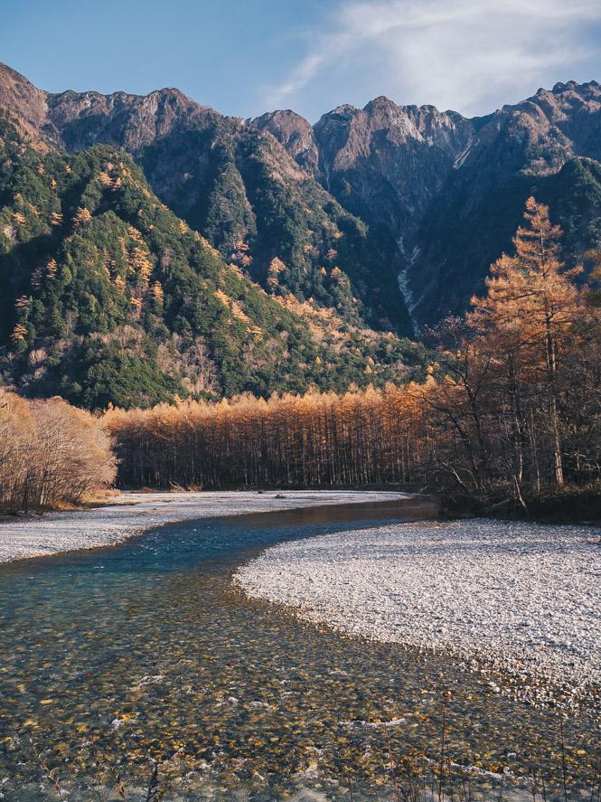 Die japanischen Alpen