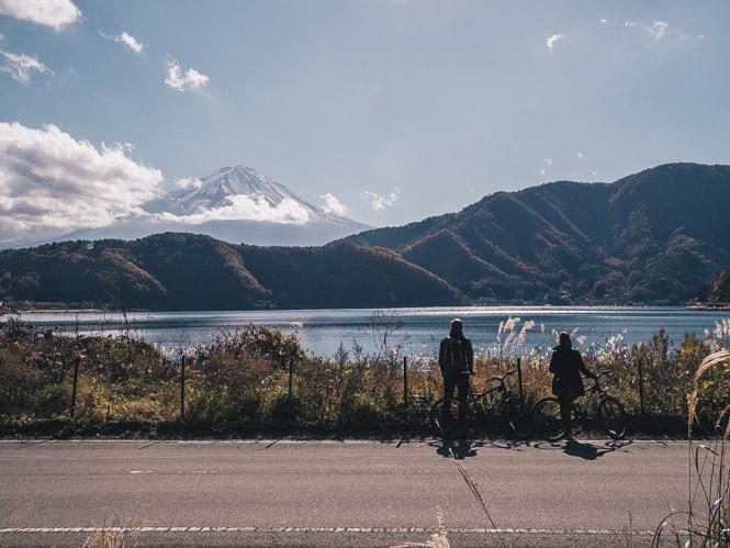 Mit dem Rad um den Mount Fuji
