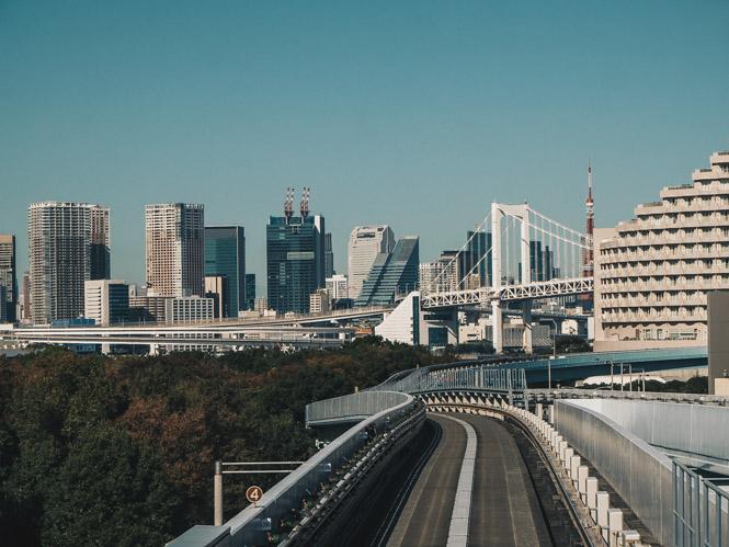 Blick auf Tokio
