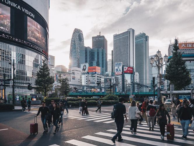 Wolkenkratzer in Shinjuku
