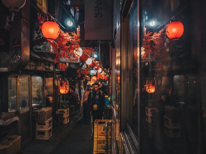 Enge Gassen in Omoide Yokocho