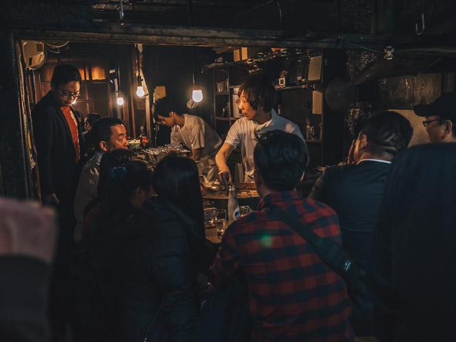 Essen in Omoide Yokocho