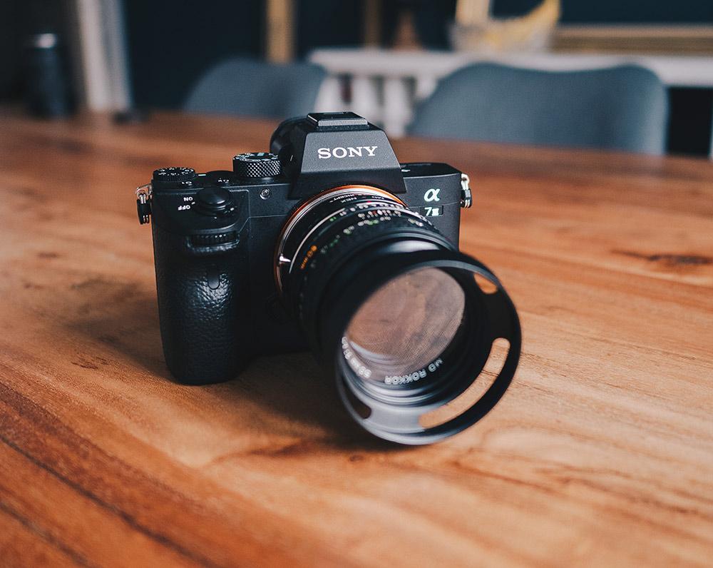 Meine aktuelle Kamera: Eine Sony Alpha 7 III