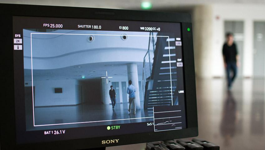 Filmaufnahmen in der ADM