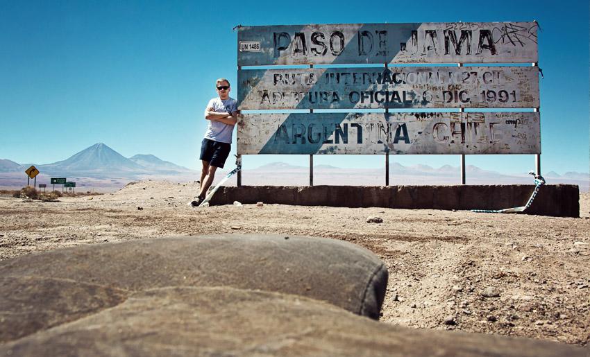Selfie in der Atacamawüste