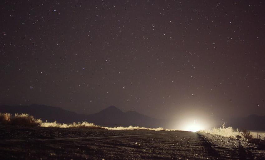Sternenhimmel in der Atacamawüste