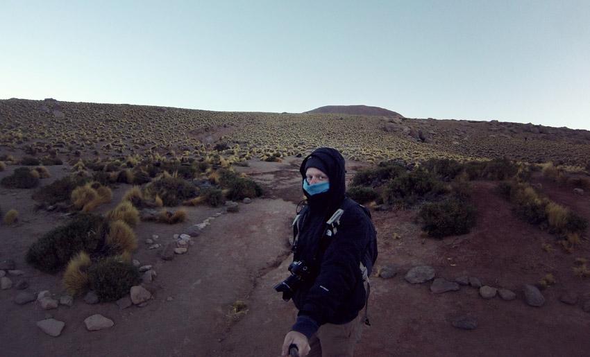 -9 °C: Geysire El Tatio