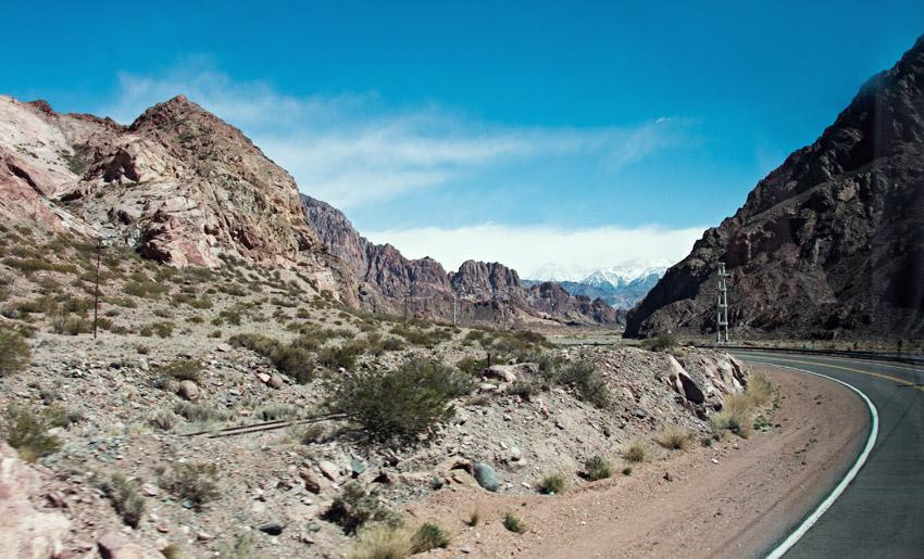 Auf dem Weg von Mendoza nach Santiago
