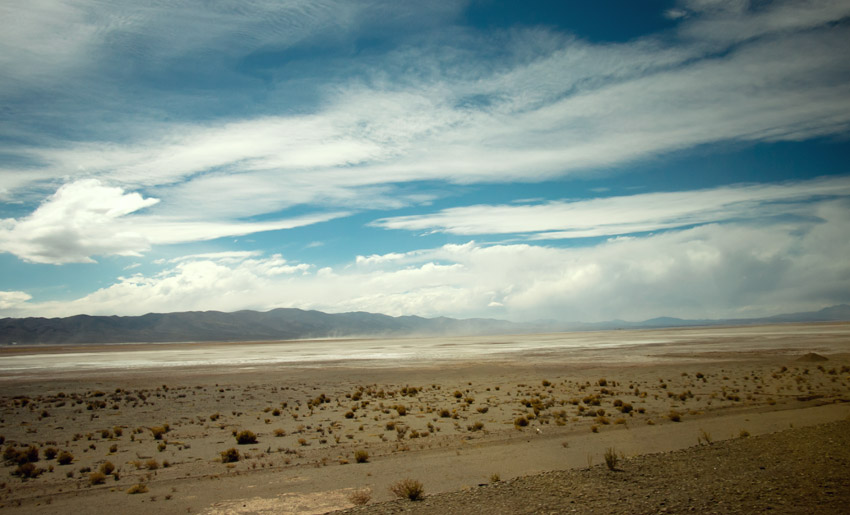 Auf dem Weg nach Salta