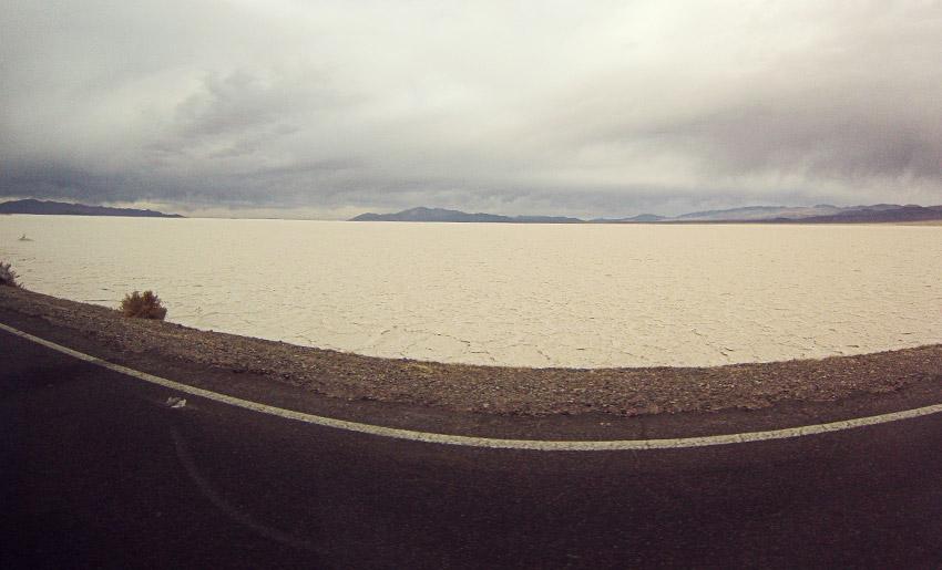 Salzwüste auf dem Weg nach Salta