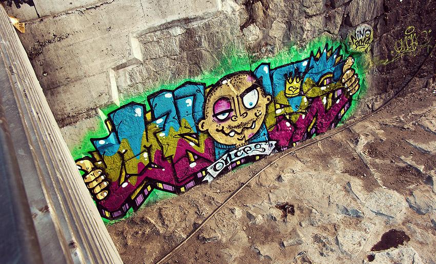 Streetart in Santiago