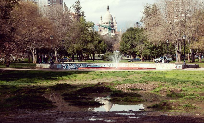 Park in Santiago