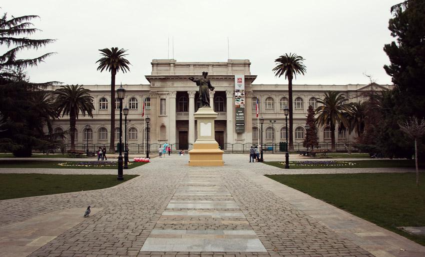 Museo Nacional de Historia in Santiago
