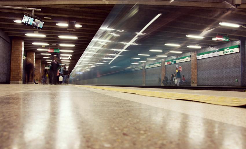 Metro in Santiago