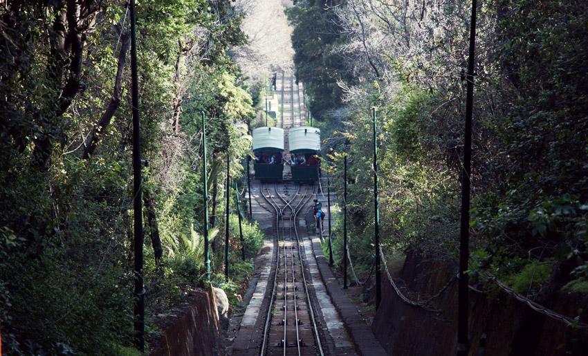 Seilbahn am Cerro San Cristóbal