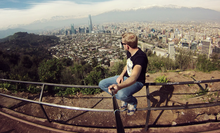 Aussicht vom Cerro San Cristóbal