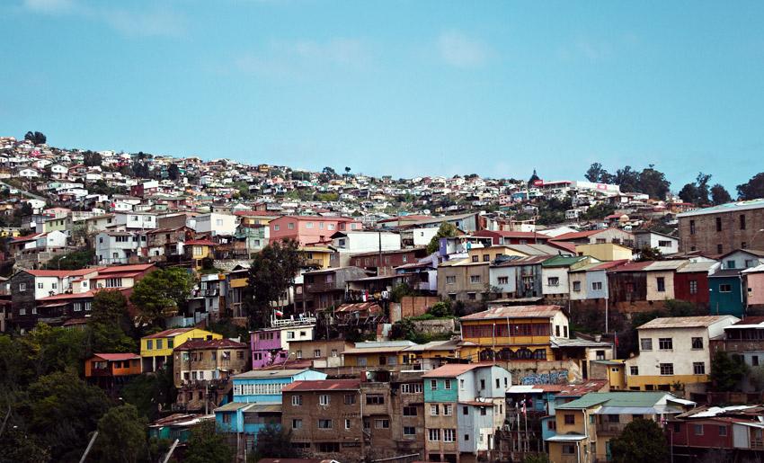 Architektur in Valparaíso