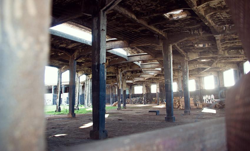 Verlassenes Gebäude in Valparaíso